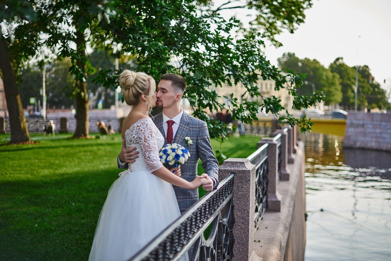 Свадебная фотосессия в парке Новая Голландия