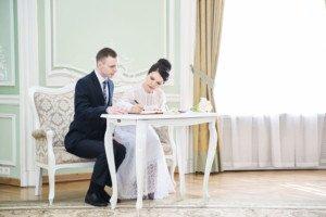 Свадебная фотосессия весной 6