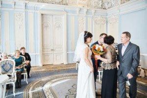 Поздравления родных невесты