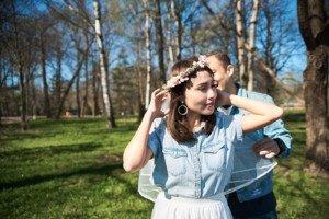 Love Story фотосессия в Петергофе 1