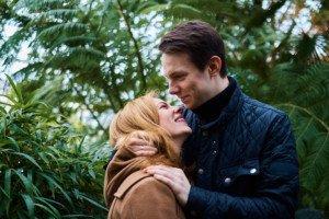 Love Story фотосессия в ботаническом саду 5