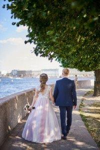 Свадебная фотосессия набережная невы