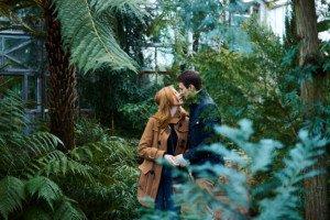 Love Story фотосессия в ботаническом саду 8