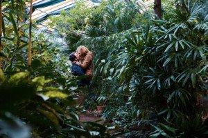 Love Story фотосессия в ботаническом саду 9