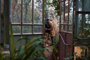 Love Story фотосессия в ботаническом саду 10