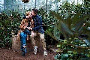 Love Story фотосессия в ботаническом саду 11