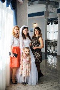 Свадебная фотосессия с детьми 4