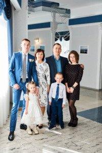 Свадебная фотосессия с детьми 5