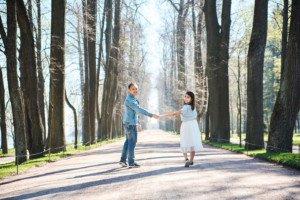 Love Story фотосессия в Петергофе 5
