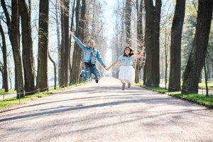 Love Story фотосессия в Петергофе 6
