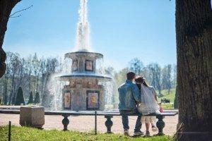 Love Story фотосессия в Петергофе 9