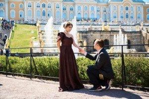 Love Story фотосессия в Петергофе 11