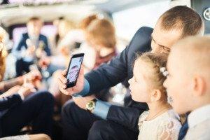 Свадебная фотосессия с детьми 13